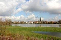 Hochwasserkulisse, Foto: Theo Gottwald