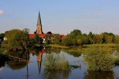 Quabbe Hochwasserkulisse, Foto: Theo Gottwald